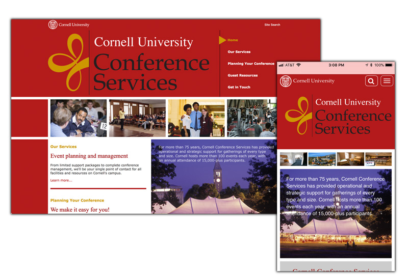 Conference Services home page